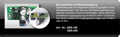 GBS-150; GBS-300; GBS150-U